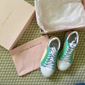 Sophia Webster Riki Low Top Sneakers